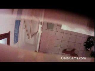faixa escondida de mil milhas na casa de banho