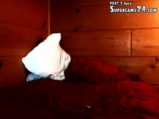 uma soneca de sonho na webcam engolir faz fantasia no doce com adolescente