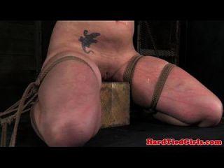 cotovelo amarrado submisso sendo punido