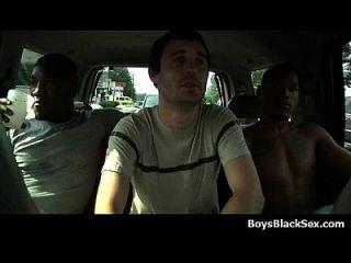 Hot black sexy dudes fuck gay white teen boys 05