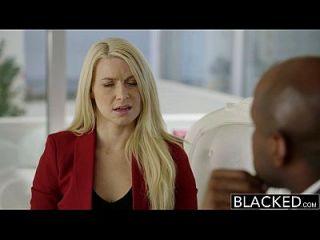 negrito business blonde anikka albrite burro fodido por uma bbc