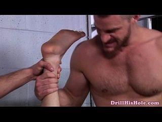 Jack King recebe dupla penetração