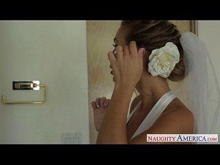 noiva loira sexy nicole aniston fucking