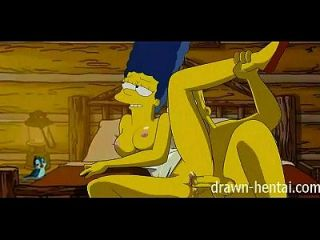 Simpsons hentai cabin of love