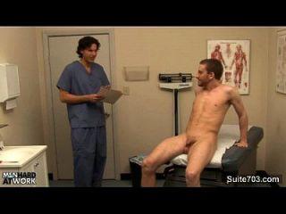 maldito médico foda seu paciente