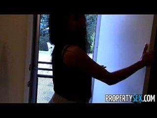 propertysex hot asian agente imobiliário enganado para foder