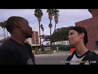 brooklyn rose foda um cara negro na frente de seu pai