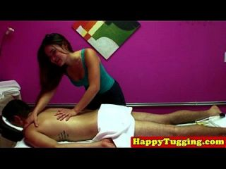Massage Asian Asian Tugging Cock