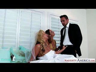 babes sexy jada stevens e phoenix marie compartilham galo no casamento