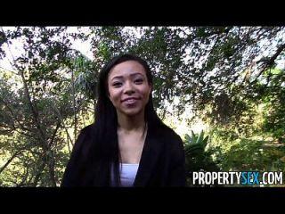 propertysex hot black agente imobiliário enganado em fucking