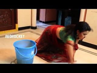 mallu aunty sirisha cena de melões em limpeza doméstica