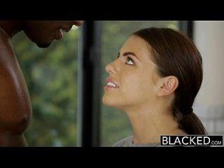 Blacky Girlfriend Adriana chechick engana com um enorme galo preto
