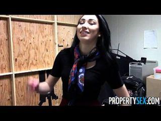 propertysex linda morena agente imobiliário casa escritório sexo video