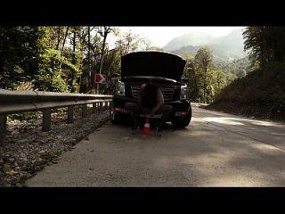 prolapso de vagabunda e orgasmo suculento na estrada (1)