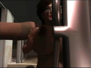 3d milf big tits fuck with 2 guys