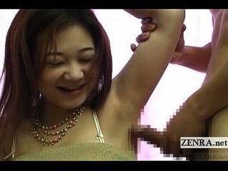 subtítulos na masturbação japonesa bizarra via axila