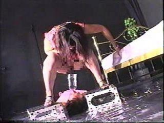escravo extremo do banheiro femdom 2