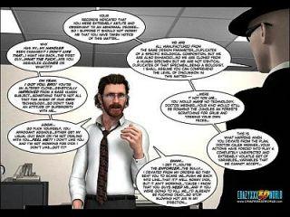 3d comic: desinibido. episódio 20