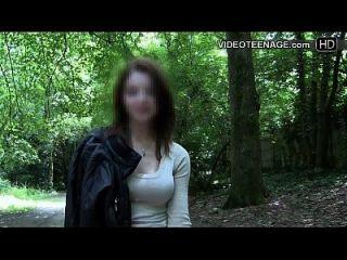 adolescente tímido faz seu primeiro elenco de pornografia