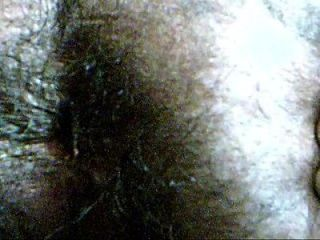 hairy indian ass closeup