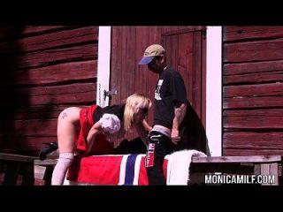 monicamilf norueguês fodendo ao ar livre no dia 17 de maio