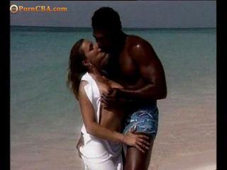Foda romântica na praia
