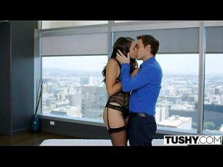 tushy enganando esposa allie haze ama anal