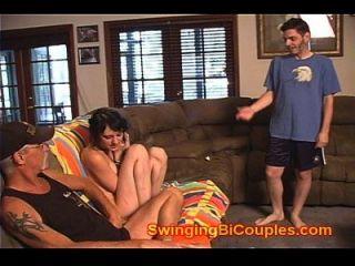 Vídeo de casa dos swingers familiares taboo