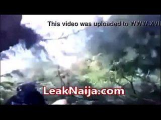 mulher casada africana pegou sexo com o homem okada dentro do arbusto leaknaija