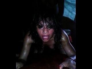 sexy latina gritando de anal