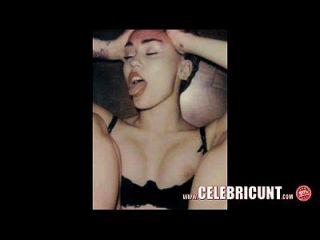 Colecção nudez celebridade miley cyrus