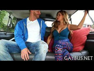 pênis selvagem andando dentro de um carro