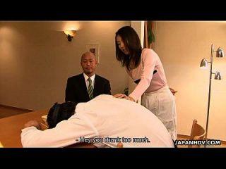 Shei asiática ei enganando seu homem em sua casa