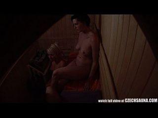 voyeur sauna espião cam capturou garotas em sauna pública