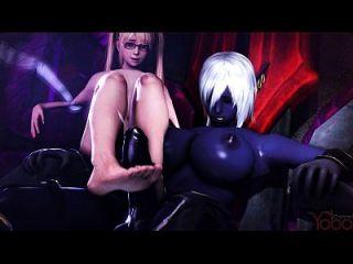3d cena pornô