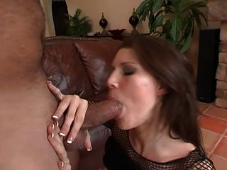 Hot babe mamada e cum swallow