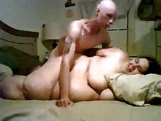 Cara magro fodendo seu super tamanho gordo bbw ex-namorada