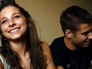 18 anos cristina e diego jovem foda casal por dinheiro