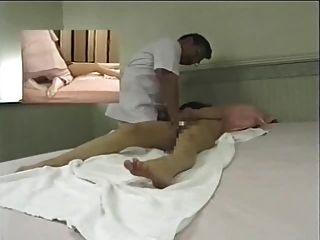 Sala de massagem japonesa câmara escondida