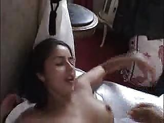 French hotel brunette first time fucked in