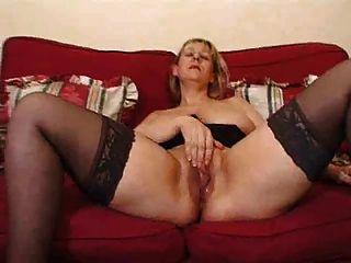 Madura loira super grande saggy tits