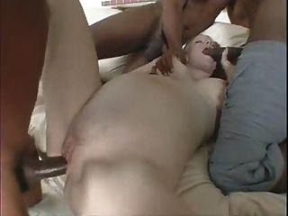 Leah Lee em gângster interracial grávida