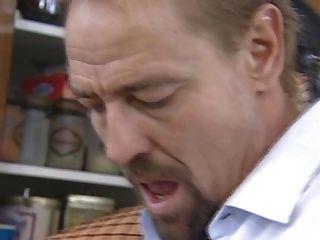 Hot redhead alemão maduro é atingido