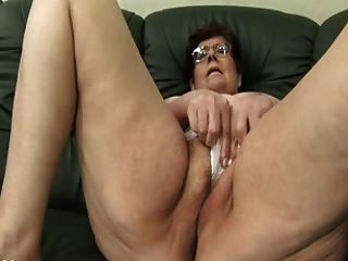 Granny panty enchimento e jogo de vibrador