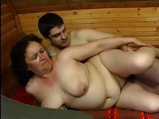 Granny anal e o menino