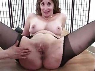 Madura suspender tights calcinha pussy stretch