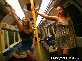Piscando na parte subterrânea de Londres 1