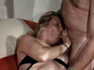 Casal alemão maduro fode com bbw maduro