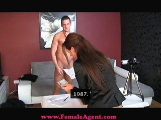 Femaleagent acidental casting creampie