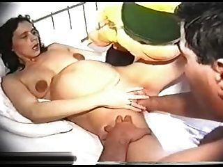 naked girl in pool